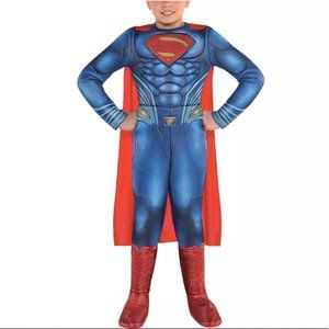 Justice League S Costume Superman Muscle Jumpsuit